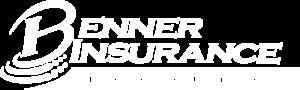 Benner Insurance - Logo 800 White